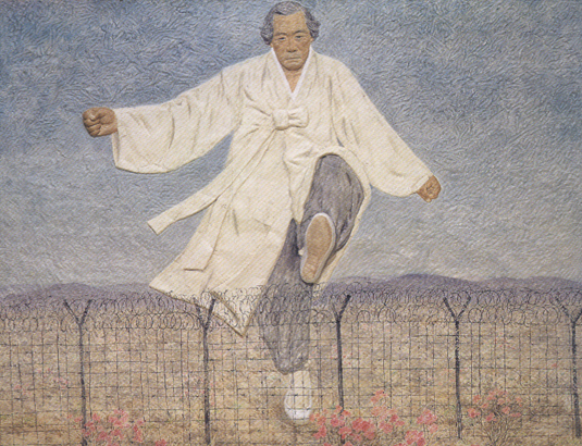 임옥상, 하나됨을 위하여, 1989