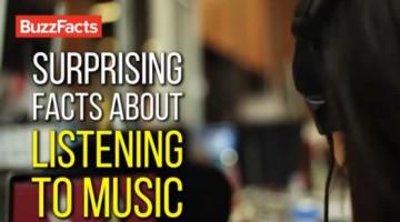 음악 듣기에 관한 놀라운 7가지 사실