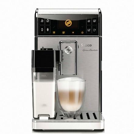 토막상식: 세코에서는 압력이 변화하는 추출그룹으로 특허를 받아 다양한 커피를 뽑아낼 수 있다.