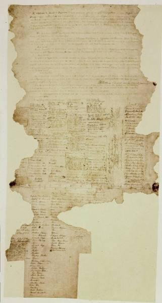 와이탕기 조약 문서