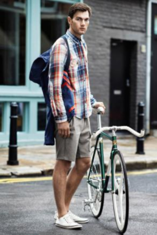 H&M에서는 2013년 자전거 패션을 선보였다. 이름은 Radlerhose로 Radler는 독일어로 자전거 족을 의미한다. 자전거가 대중 교통 수단인 독일에서는 Radler 음료가 있다. 독일 맥주와 스프라이트를 1:1로 섞은 것으로 여름에 자전거를 탄 이후, 마시면 정말 기분이 날아갈 듯 시원하다.
