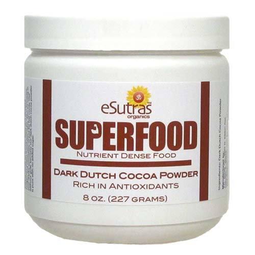 예, 맞습니다, 다크 코코아는 건강에 좋은 수퍼 푸드입니다.