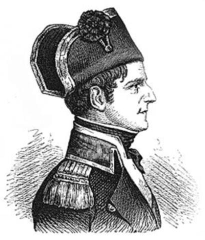 당시 덴마크 해군의 현장 총지휘관이었던 피셔 함장입니다.