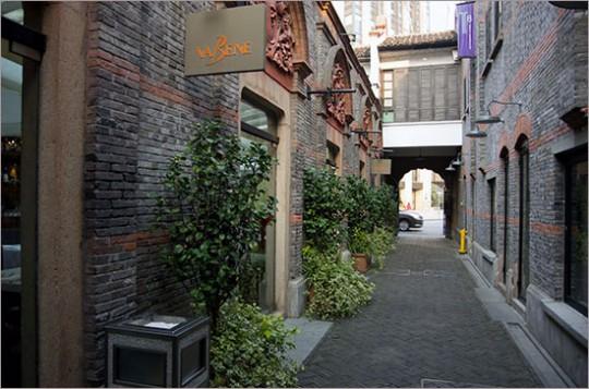 ▲ 1920년대에 김구를 비롯한 임정 요원들의 숙소가 있었던 영경방(永慶坊) 골목