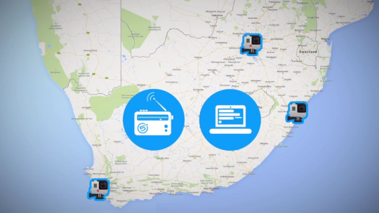 남아공에서 진행된 고프로찾기 프로모션