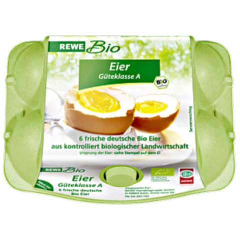 유기농 달걀로 개당 0.33유로