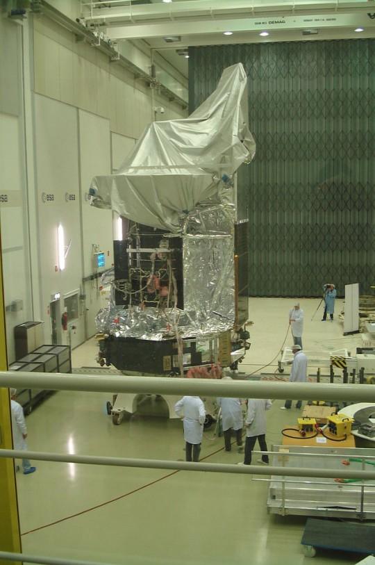 Herschel_Space_Observatory_at_ESTEC