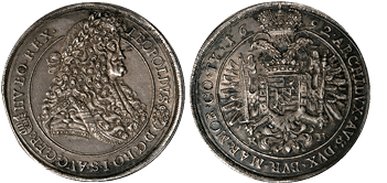Hungary-thaler-leopold-1692