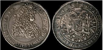 Hungary-thaler-leopold-1692