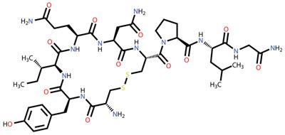 사랑의 호르몬, 옥시토신의 분자구조