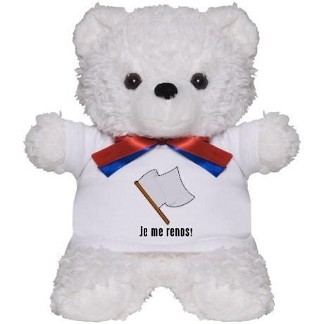 je_me_rends_i_surrender_teddy_bear