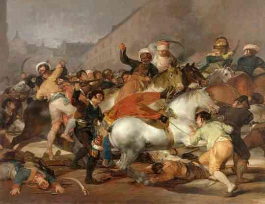 1808년 5월 2일 도스 데 마요 사건은 정말 많은 것을 바꿔 놓습니다.