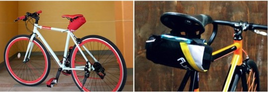 프레임에 물통 케이지를 따로 달 수 없다면 안장 뒷 부분에 다는 방식을 써야 한다. 이 경우에는 자전거를 타는 중간에 물을 마시기는 어렵겠지만, 가방 안에 물통을 두고 넣고 빼는 방식보다는 편리하다. 빅토리 보틀케이지 42000원
