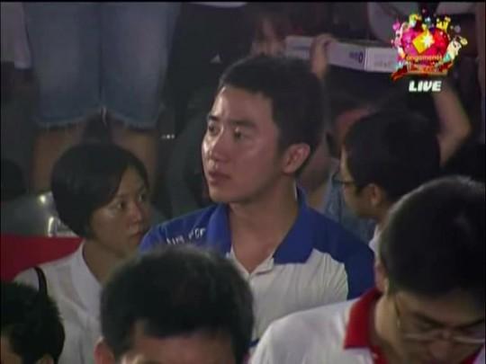 ▲자신이 군대에 있는 사이, 친정팀이 경기에서 우승하자 끝내 눈물을 보이는 홍진호 콩까면사살