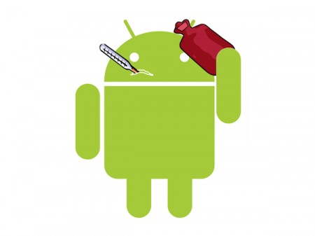 4-Sick-Google-Android-Robot