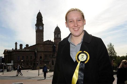 지난 5월 영국 총선에서 당선된 마리 블랙(27세)