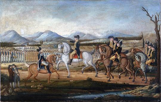 작자 미상, 1795, <The Whiskey Rebellion>, 메트로폴리탄 미술관