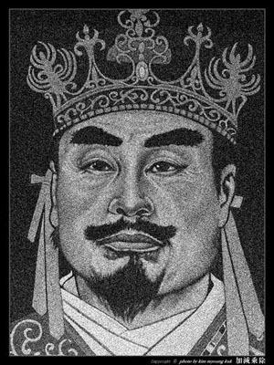 ▲ 고구려 20대 왕 장수왕. 98세까지 살았다. 말장난이 아니라 진짜 오래 살아서 장수왕이다.