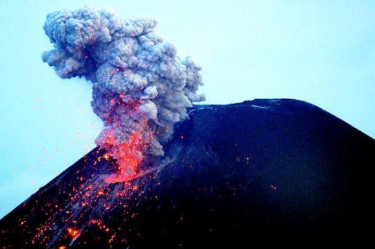 인도네시아_화산