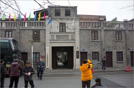 ▲ 항저우의 임정 청사 유적. 1932년 11월, 임정은 서호에 가까운 이 호변촌(湖邊村) 23호로 청사를 옮겼다.