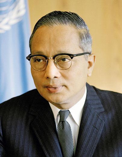 무려 제 3대 UN 사무총장을 지낸 버마의 우 탄트