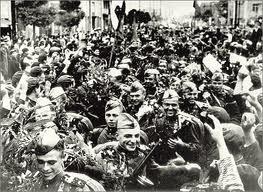 ▲ 북한 주둔 소련군