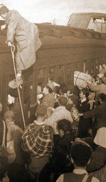 ▲ 당시 귀환열차
