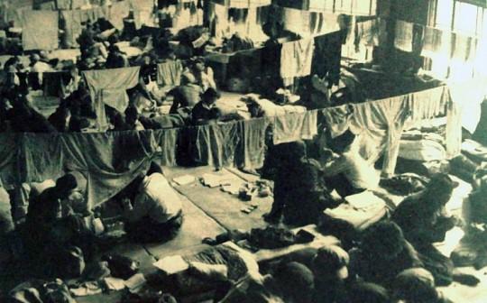 ▲ 당시 수용소의 모습