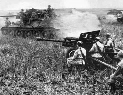 ▲ 8월폭풍 작전 당시 소련군