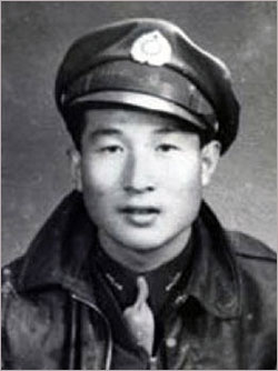 ▲ 한인 항공열사 김원영(1919~1945)