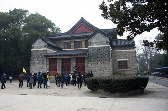 ▲ 난징대학(당시 금릉대학)의 예당. 좌파 민족주의 진영의 김원봉은 여기서 조선민족혁명당을 창당했다.