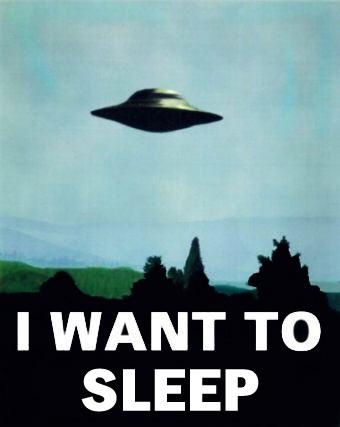 나는 자고 싶다...