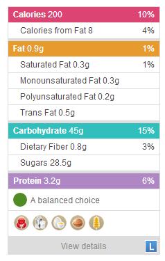 칼로리를 계산해주는 라빔 스크린샷
