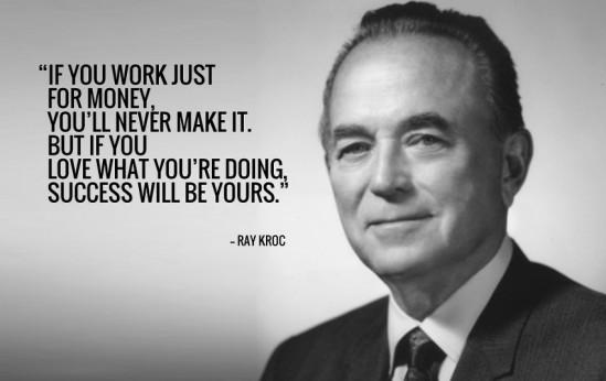 돈을 위해서 일한다면, 결코 성콩할 수 없지만 하고 있는 일을 사랑하면 성공은 당신의 것이 될 것이다.