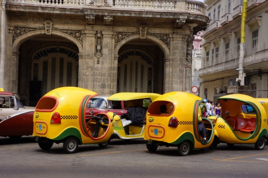 쿠바 택시
