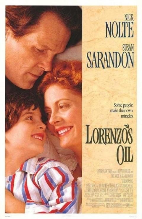영화 의 포스터. ALD에 걸린 아들 로렌조를 살리기 위한 오도니 부부의 눈물겨운 투쟁을 그린 실화를 바탕으로 한 영화다.