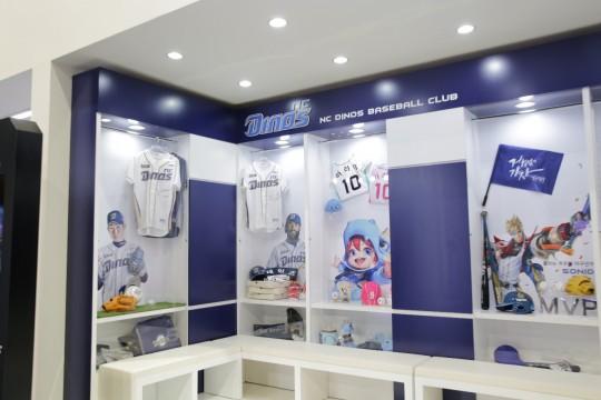NC다이노스라는 야구단을 십분 활용한 소니드의 락커룸은 게임과 야구단을 동시에 홍보하는 1석 2조의 효과를 보여주었다.