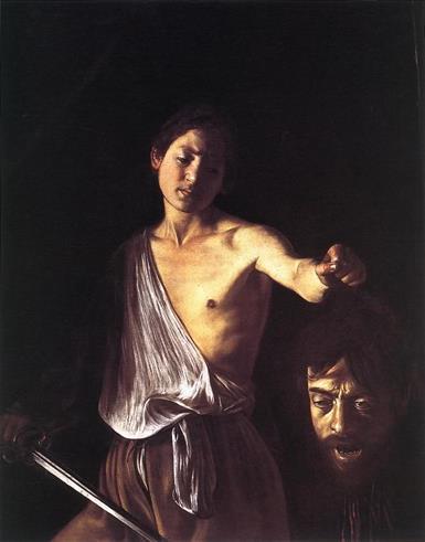 이것이 비즈니스다! 까라바지오(CARAVAGGIO, Michelangelo Merisi)의 『골리앗의 머리를 들고 있는 다윗』
