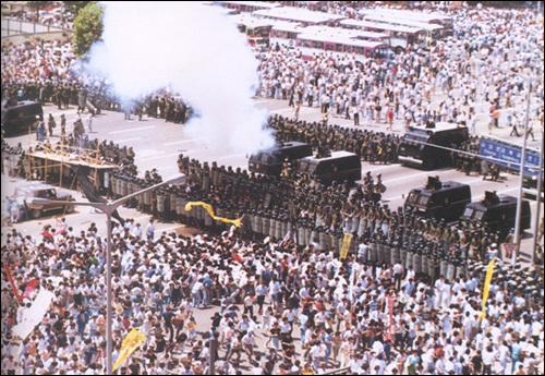 1987년 이한열 열사 장례