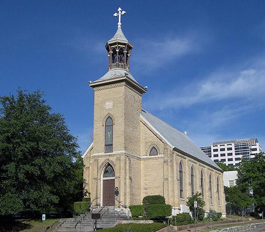 미국 텍사스 오스틴의 겟세마네 루터 교회(본문의 내용과 관련 없는 사진임) 출처: Wikipedia