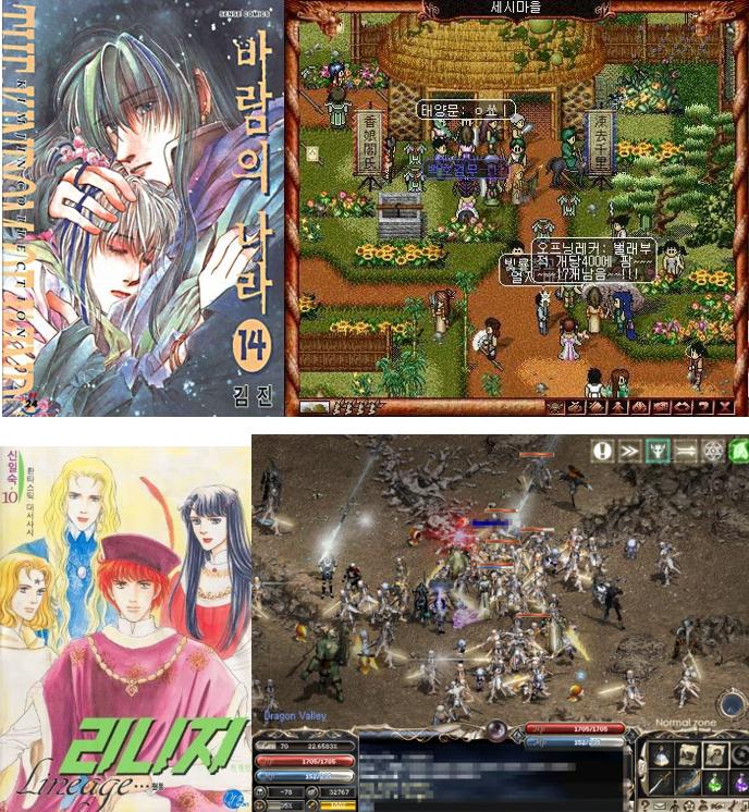 이들 두 게임은 만화를 온라인 게임으로 확장시켰다는, 세계적 의미가 있다