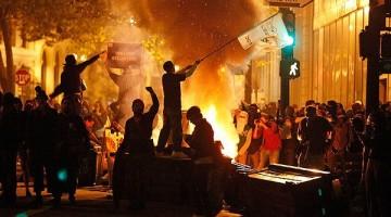 시위 도시전설: 선진국은 그카면 일난다 카더라