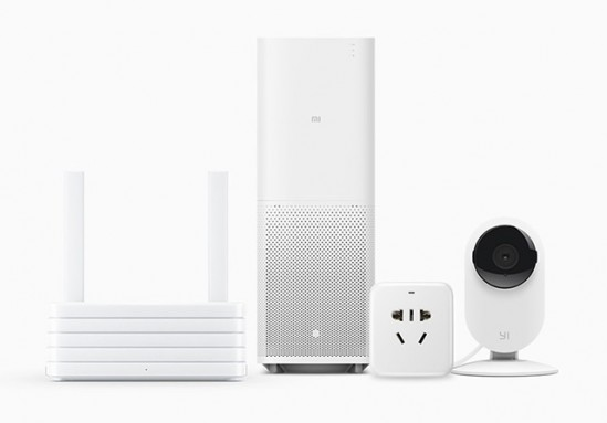 샤오미의 IoT 제품들