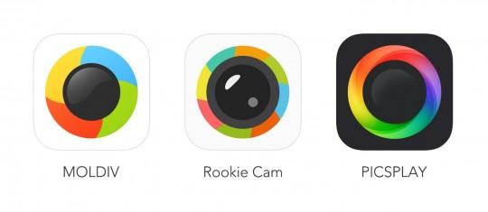 젤리버스가 밀고 있는 앱 3인방