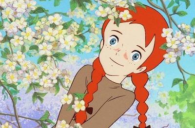 """""""빨간 머리 앤 귀여운 소녀 빨간 머리 앤 우리의 친구~~~"""""""