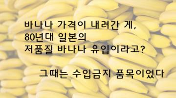"""""""일본"""" 갖다붙인 괴담 좀 믿지 맙시다: 일본도, 바나나도 죄가 없다"""