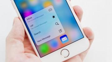 애플 아이폰6S, 멀티터치에서 3D터치로