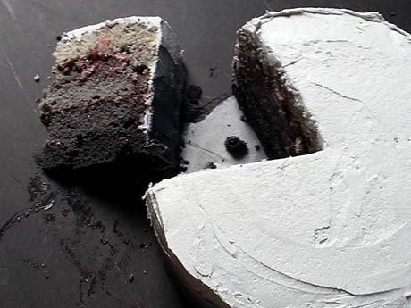 Grey-gradient-cake