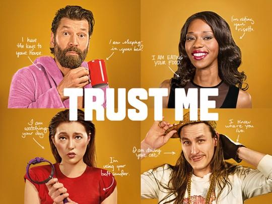 에어비앤비의 광고. '신뢰'의 키워드가 중심이다. 사진 = 에어비앤비