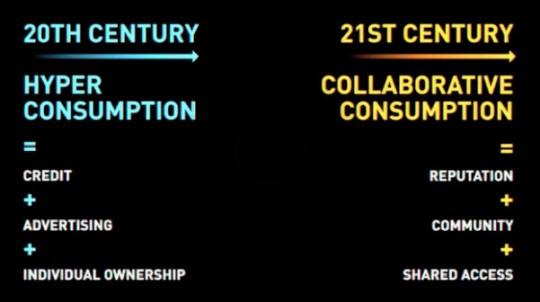 20세기의 패러다임 vs. 21세기의 패러다임 사진: 패스트컴퍼니